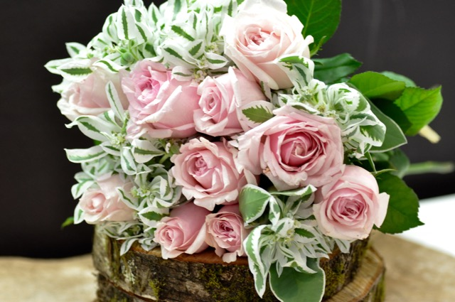 Pb baby pink rose posy yuga cafe and floral design by setsuko pb baby pink rose posy mightylinksfo